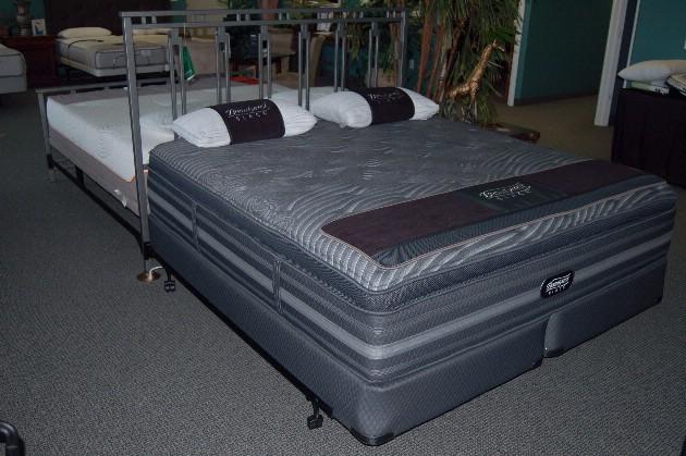 Bed Man Beautyrest Black Natasha Plush Pillow Top
